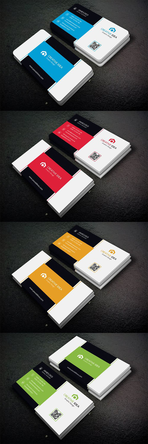 Shape Business Card 1330037