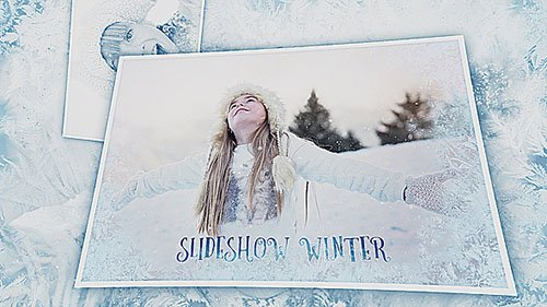 Slideshow Winter - Project for After Effects (Videohive)