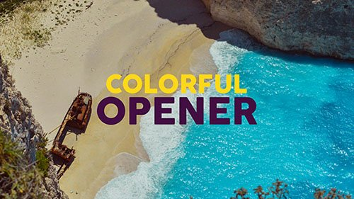 Colorful Opener 19529371 - Project for After Effects (Videohive)
