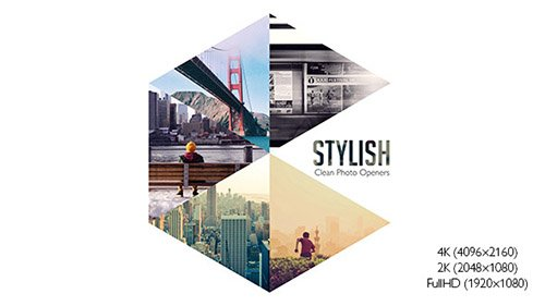 Stylish Photo Openers - Logo Reveal - Project for After Effects (Videohive)