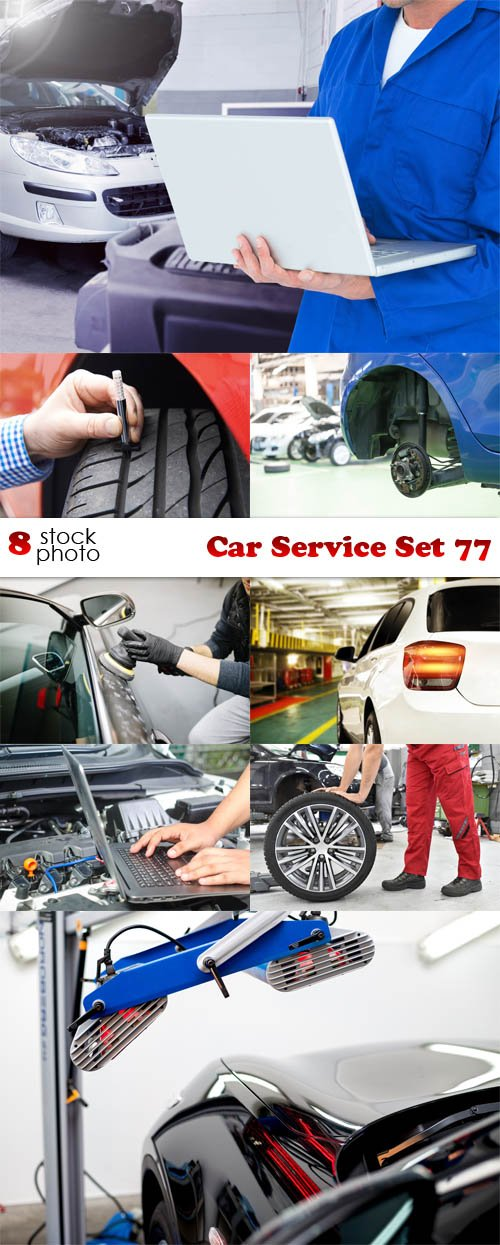 Photos - Car Service Set 77