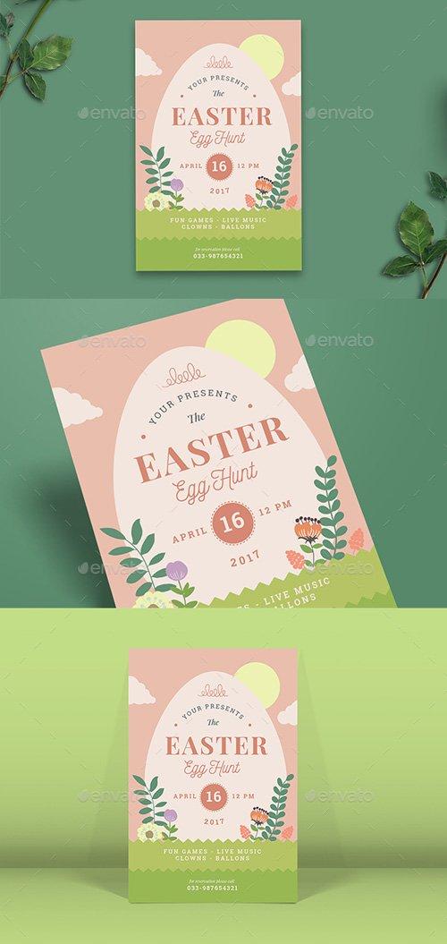 Easter Egg Hunt Flyer 19560402