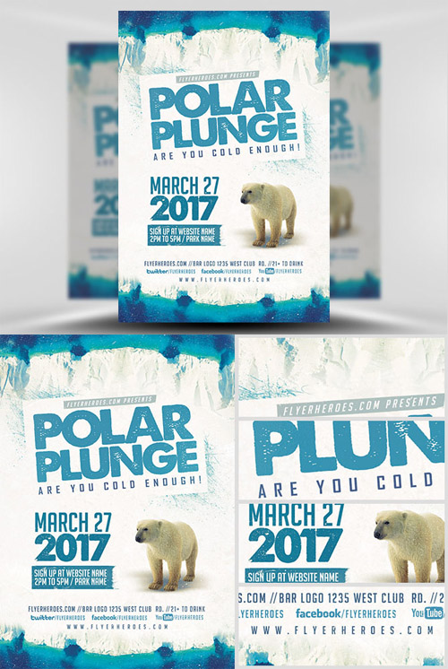 Flyer Template - Polar Plunge