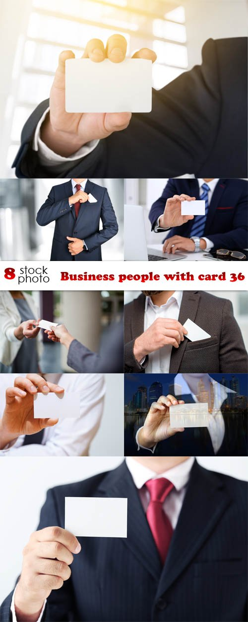 Photos - Business people with card 36
