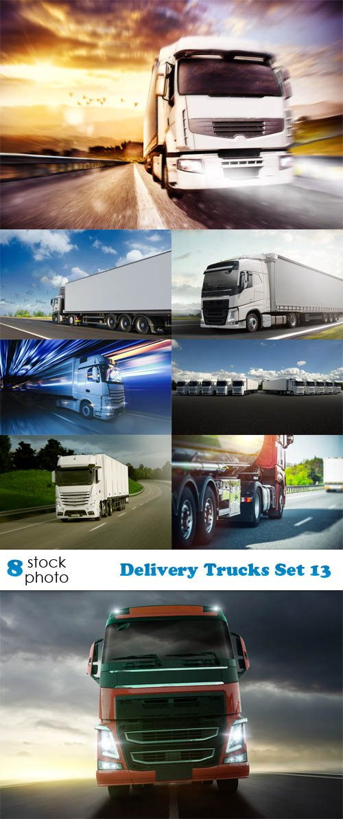 Photos - Delivery Trucks Set 13