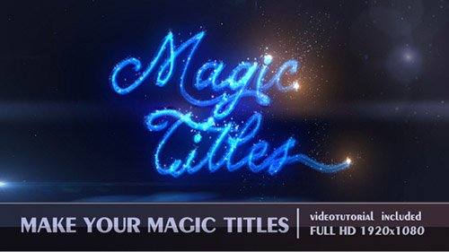 Magic Titles 19445192 - Project for After Effects (Videohive)