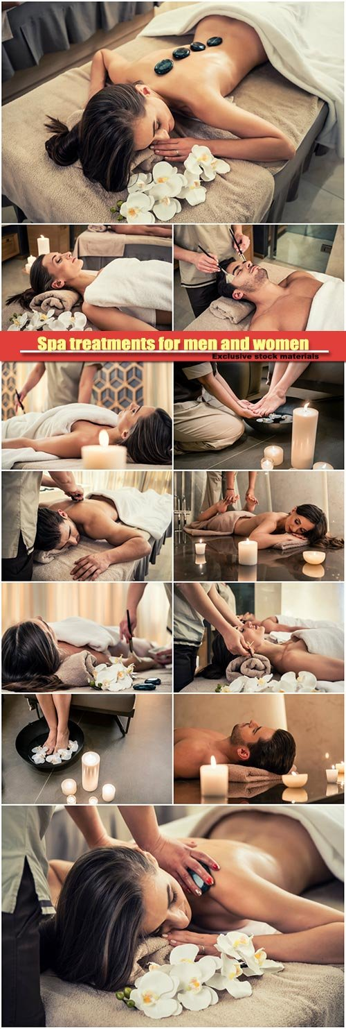 Spa treatments for men and women