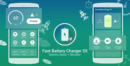 CodeCanyon - Fast Battery Charger 5x & Battery Saver + Booster With Facebook Audience Network ( AdChoice ) v1.0 - 18316639