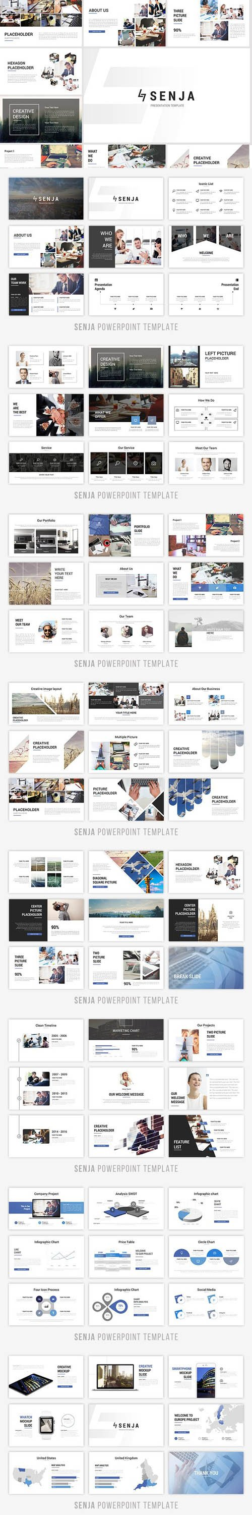 Senja Powerpoint Template 1339165