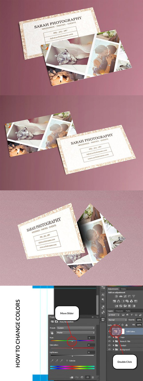 Photography Business Card 1336524