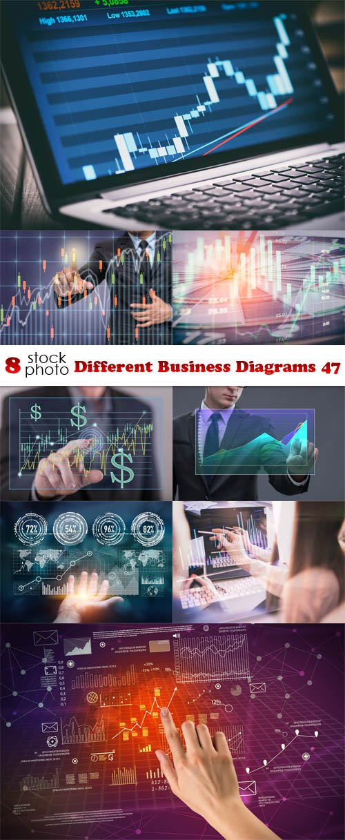 Photos - Different Business Diagrams 47