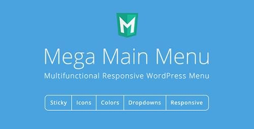 CodeCanyon - Mega Main Menu v2.1.4 - WordPress Menu Plugin - 6135125
