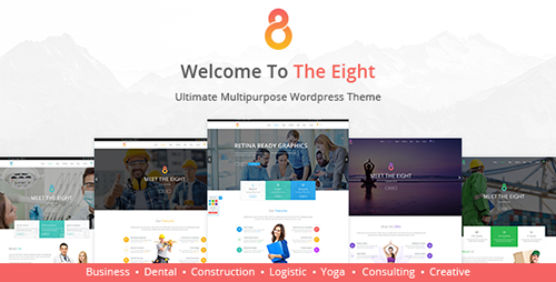ThemeForest - The8 v1.0.7 - Corporate Business WordPress theme - 13443893