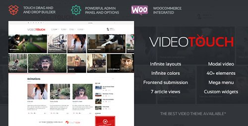 ThemeForest - VideoTouch v1.8.2 - Video WordPress Theme - 9340715