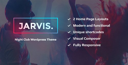 ThemeForest - Jarvis v1.5 - Night Club, Concert, Festival WP Theme - 14397077