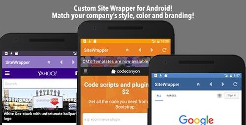 CodeCanyon - Customizable Site App Android (Update: 17 November 16) - 18669283