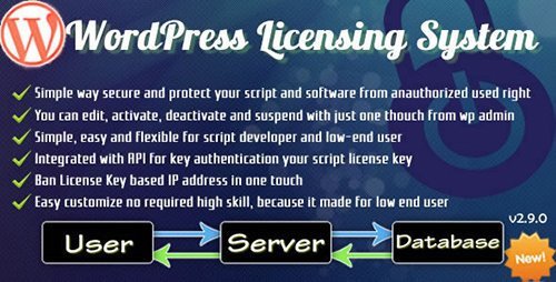 CodeCanyon - Wordpress Licensing System Basic v2.9.9.3 - 3720528
