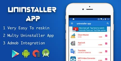 CodeCanyon - Uninstaller Application for android v1.0 - 18414640