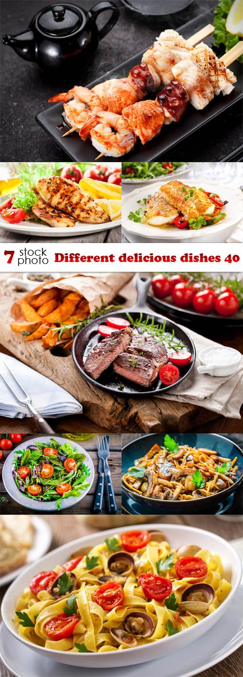 Photos - Different delicious dishes 40