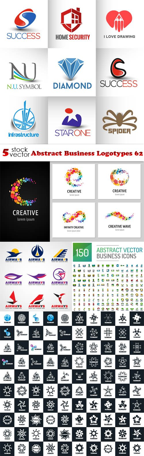 Vectors - Abstract Business Logotypes 62