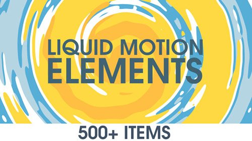 Liquid Motion Elements 15789530 - Project for After Effects (Videohive)