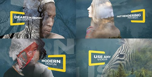 Parallax Double Exposure - Project for After Effects (Videohive)