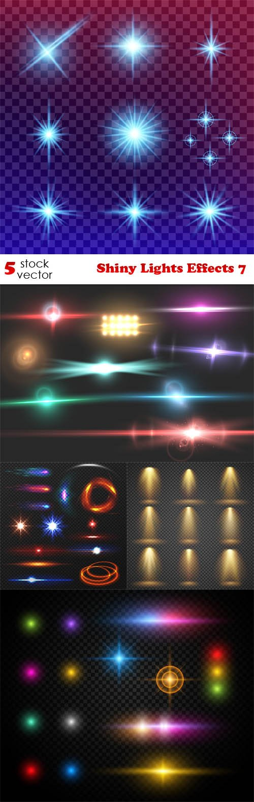 Vectors - Shiny Lights Effects 7