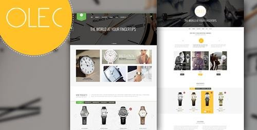 ThemeForest - Olec Watches Shop v1.0 - Responsive Magento Theme - 10642913