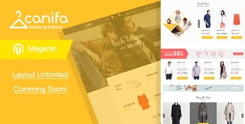 ThemeForest - Canifa Fashion Shop v3.0.0 - Responsive Magento Theme - 11984552