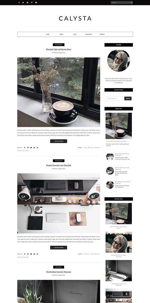 Blogger Template Responsive - SILVANA - CM 1220550