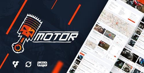 ThemeForest - Motor v1.2.4 - Vehicles, Parts, Equipments and Accessories WooCommerce Store - 16829946