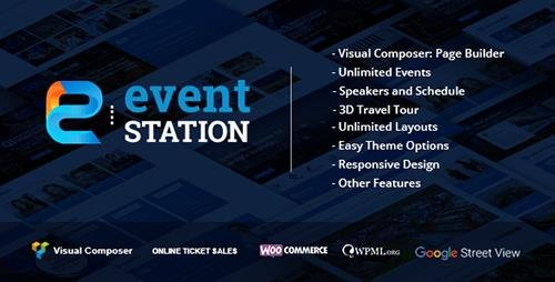 ThemeForest - Event Station v1.1.7 - Event & Conference WordPress Theme - 16019694