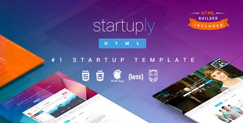 ThemeForest - Startuply v2.1 - Responsive Multi-Purpose Landing Page - 7953388