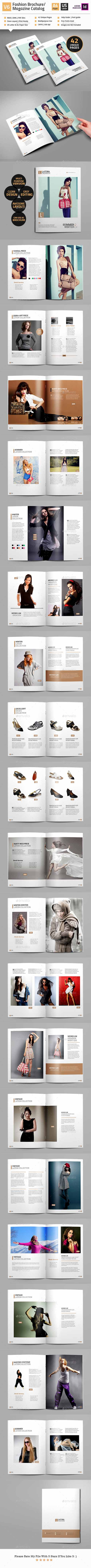 Fashion Magazine/Brochure/Catalog Template V6 15733912
