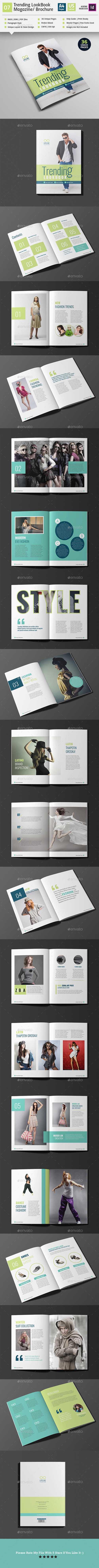 Trending LookBook/ Magazine/ Booklet V07 18382723