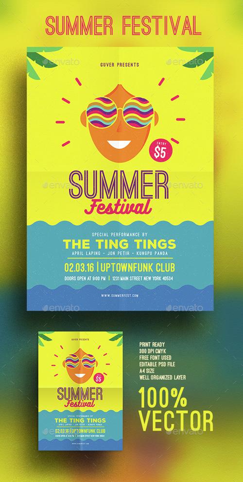 GR - Summer festival flyer 15349110