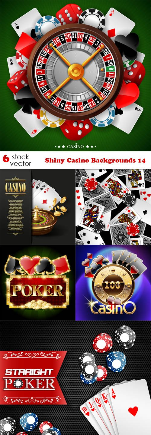 Vectors - Shiny Casino Backgrounds 14