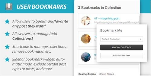 CodeCanyon - WordPress User Bookmarks (Standalone version) v3.1 - 6584179