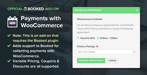 CodeCanyon - Booked Payments with WooCommerce (Add-On) v1.3.3 - 12824257