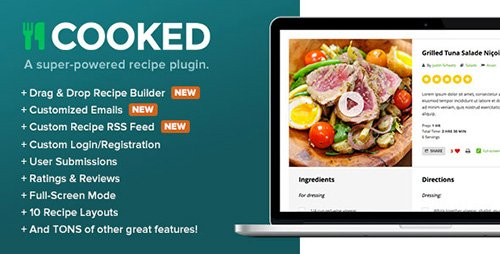 CodeCanyon - Cooked v2.4.1 - A Super-Powered Recipe Plugin - 8782812