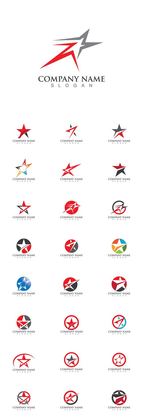 Vector Star Logos