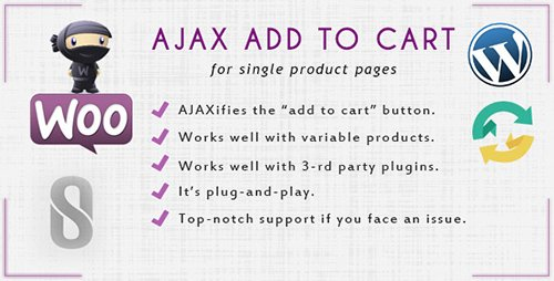 CodeCanyon - WooCommerce Ajax Add to Cart v1.0 - 12340334
