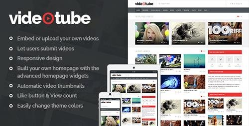 ThemeForest - VideoTube v2.3 - A Responsive Video WordPress Theme - 7214445