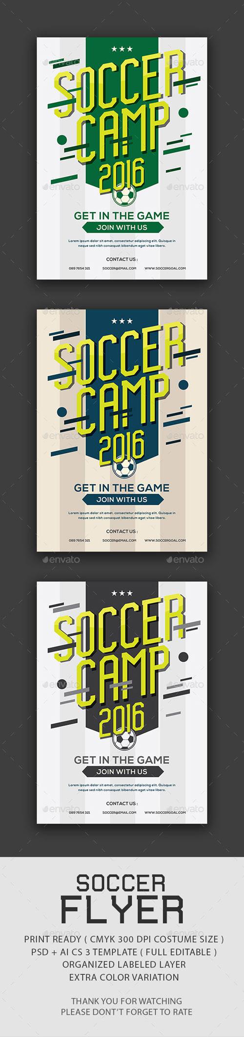 Soccer Camp Flyer 14210677
