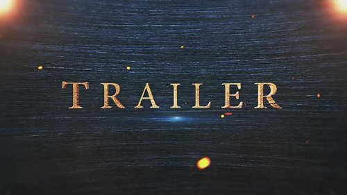 CM - Epic Trailer Titles After Effects 1273177