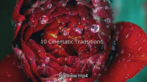 CM - Cinematic Transitions After Effects 1273406