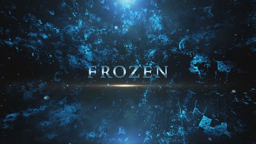 CM - Frozen Titles After Effects 1263970