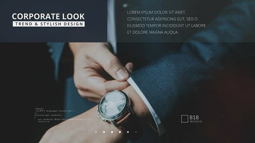 CM - Corporate Glass Slideshow After Effects 1273326