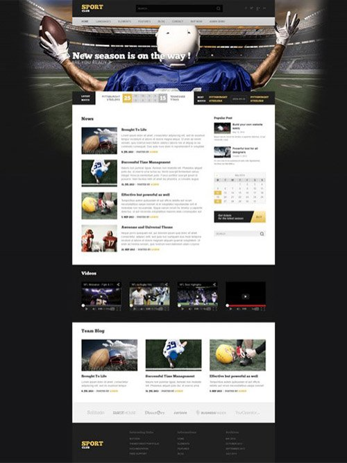 Ait-Themes - SportClub v1.95 - WordPress Theme For Sport Clubs & League