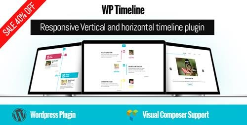 CodeCanyon - WP Timeline v1.7 - Responsive Vertical and Horizontal timeline plugin - 17664690